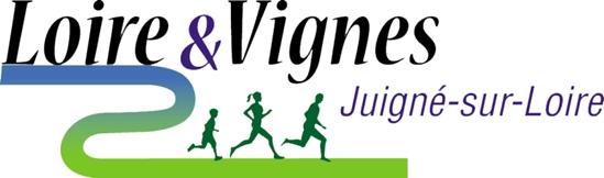 logo trail & vignes juigné sur loire