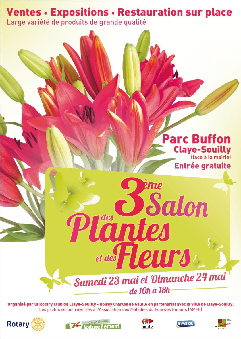Le rotary club de claye souilly roissy organise le 3 me - Entree gratuite salon agriculture 2015 ...