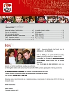 couverture newsletter amfe 2014
