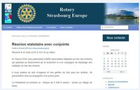 rotary club strasbourg europe soutient amfe et le don d'organes