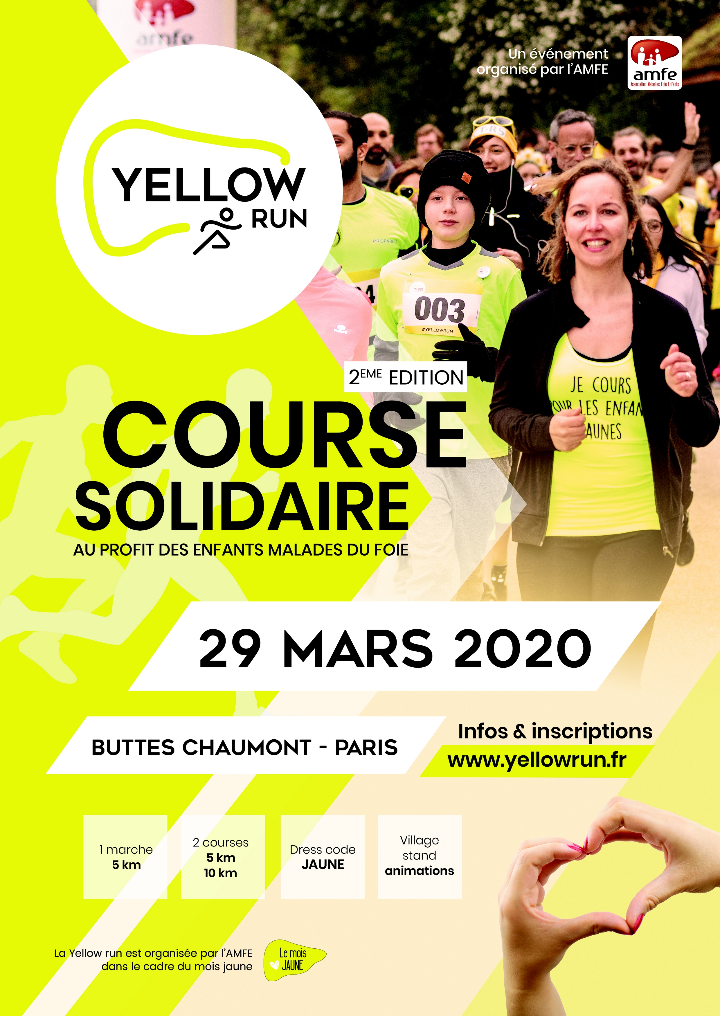 yellow run 2020 amfe
